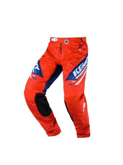Kenny Racing TRACK motoristične cross hlače - rdeče/modre