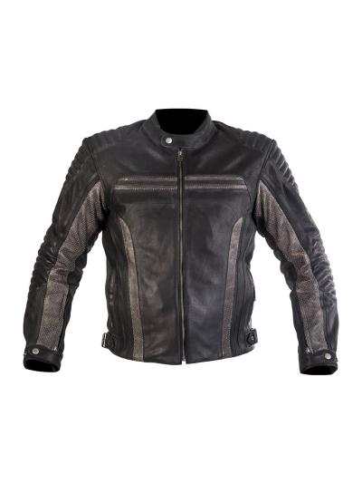 MugenRace 1870 usnjena motoristična jakna - črna