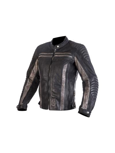 MugenRace 1871 Lady ženska usnjena motoristična jakna - črna