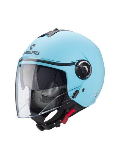 Odprta čelada Caberg RIVIERA V4 Svetlo Modra
