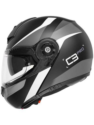Motoristična čelada Schuberth C3 Pro Sestante siva