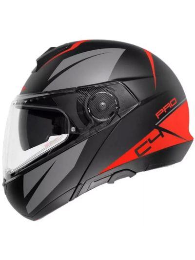 Motoristična čelada SCHUBERTH C4 Pro Merak rdeča