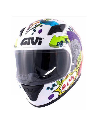 Otroška motoristična čelada GIVI JUNIOR 4 - multicolor