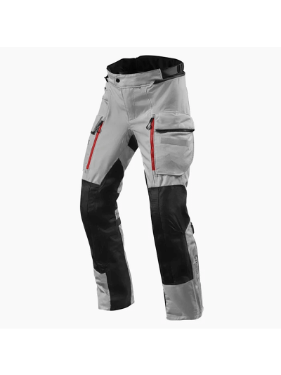 Tekstilne motoristične hlače REVIT SAND 4 H2O