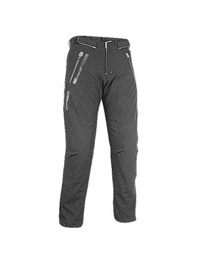 ATROX Soft-Shell tekstilne motoristične hlače - črno/sive
