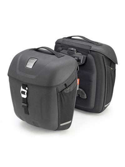 GIVI MT501 Multilock stranske torbe za motorno kolo | 18 L
