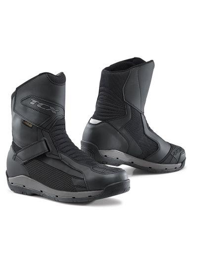 Motoristični škornji TCX AIRWIRE SURROUND GTX - črni