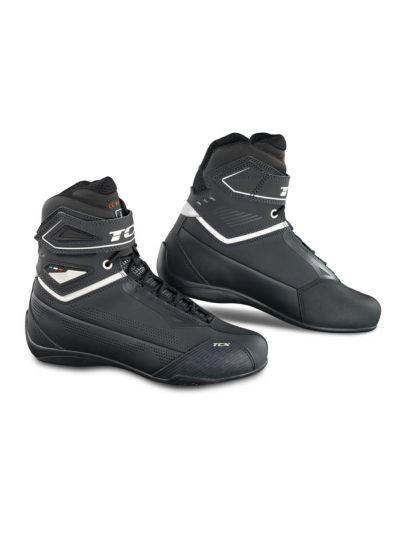 Ženski motoristični čevlji TCX Rush 2 Lady Air Gunmetal / Pearl