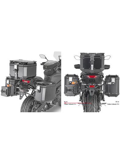 GIVI PLO2159CAM nosilci stranskih kovčkov za Trekker Outback Monokey Cam-Side za Yamaha Tracer 9 (2021 - )