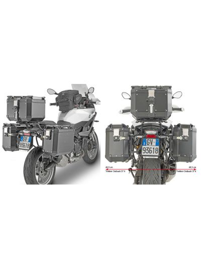 GIVI PLO5137CAM nosilec stranskih kovčkov Trekker Outback za BMW F 900 XR (2020 - )
