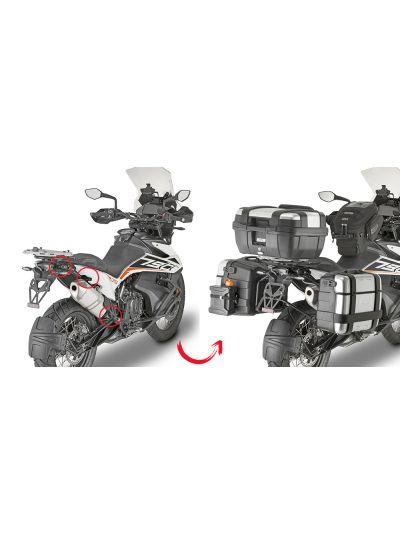 GIVI PLOR7710MK hitro snemljivi nosilci strankih kovčkov Monokey za KTM 790 Adventure (2019 - )