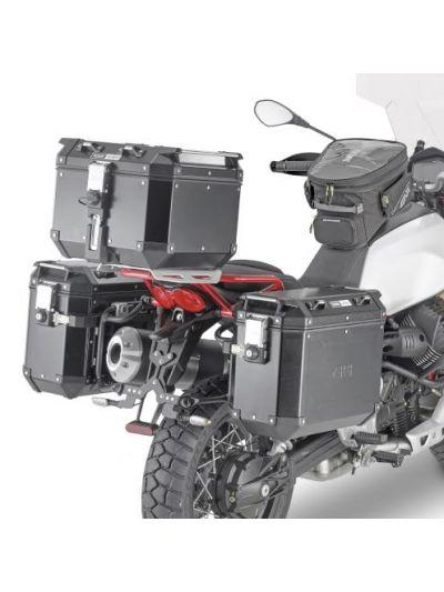 GIVI PLOR8203CAM hitro snemljiv nosilec stranskih kovčkov Trekker Outback za Moto Guzzi V85 TT (2019 - )