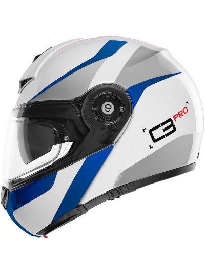 Motoristična čelada Schuberth C3 Pro Sestante modra