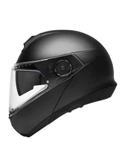 SCHUBERTH C4 BASIC Motoristična preklopna čelada - mat črna