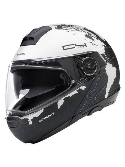 SCHUBERTH C4 Pro Women ženska motoristična preklopna čelada - Magnitude bela