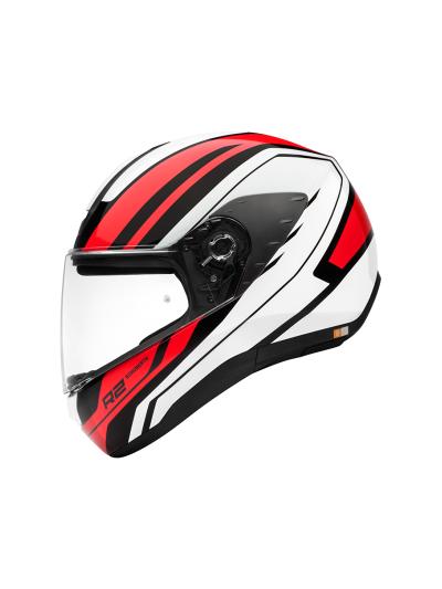 R2 ENFORCER RED - Motoristična čelada / rdeča