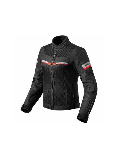 REV'IT TORNADO 2 Lady ženska motoristična tekstilna jakna - črna