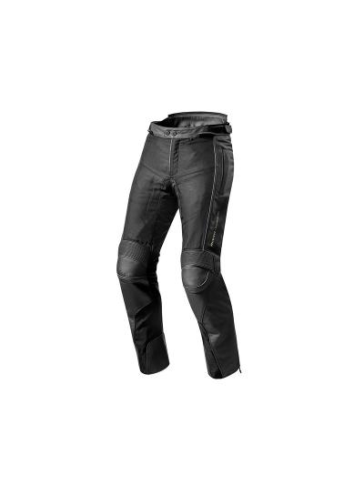 REV'IT GEAR2 črne usnjene motoristične hlače