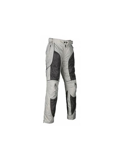Tekstilne motoristične hlače RICHA Summer Breeze belo-sive