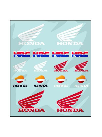Set nalepk Honda Repsol - medium