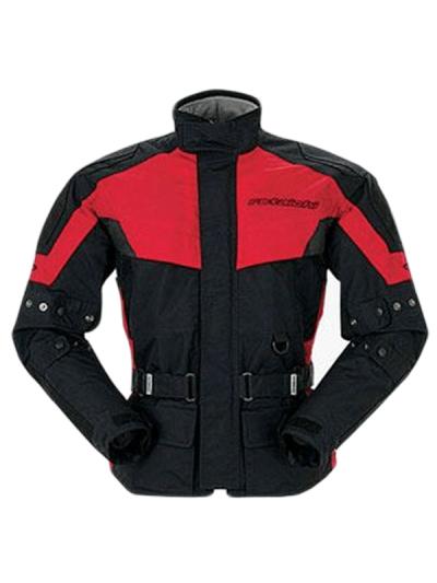 Motoristična tekstilna jakna RS Taichi DryMaster-X Half - črna / rdeča