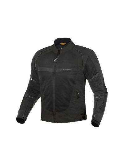 Motoristična poletna jakna SHIMA X-MESH - črna