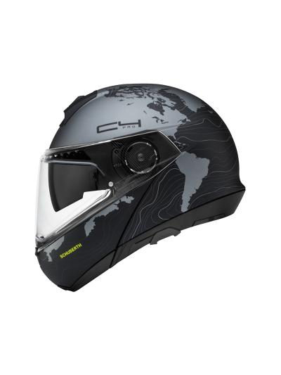SCHUBERTH C4 Pro motoristična preklopna čelada - Magnitude črna