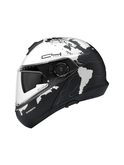SCHUBERTH C4 Pro motoristična preklopna čelada - Magnitude bela