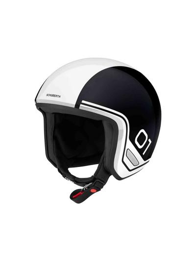 SCHUBERTH O1 ERA JET motoristična čelada - era bela (Velikost L)