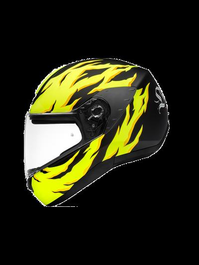 Schuberth R2 RENEGADE integralna motoristična čelada - rumena
