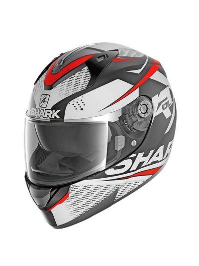 SHARK RIDILL 1.2 STRATOM Integralna motoristična čelada - črna/bela/rdeča