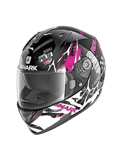 SHARK RIDILL 1.2 DRIFT-R Integralna motoristična čelada - črna/vijolična/bela