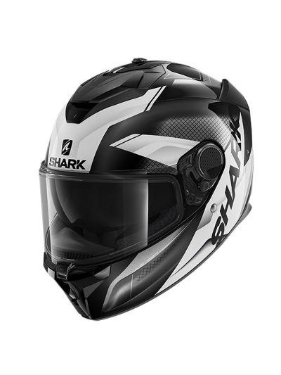 SHARK SPARTAN GT ELGEN Integralna motoristična čelada - črna/antracit/bela