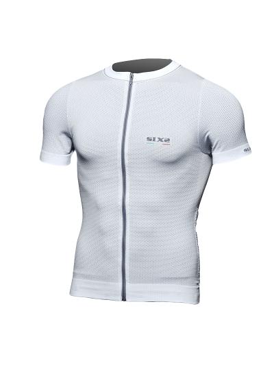 Kolesarska majica SIXS - bela