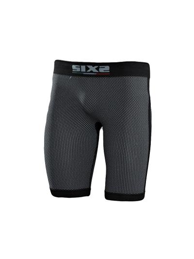 SIXS SHO1 Kratke hlače - carbon črne