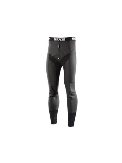 SIXS zimska podobleka dolge hlače črne