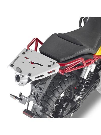GIVI SRA8203 aluminijast nosilec zadnjega kovčka za Moto Guzzi V85 TT (2019 -