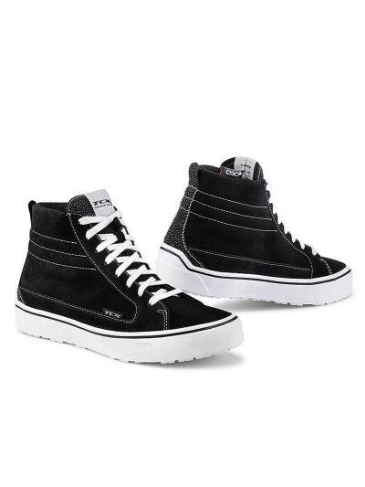 Motoristični čevlji TCX Street 3 WP Lady - črni