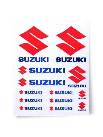 Set transparentnih nalepk SUZUKI
