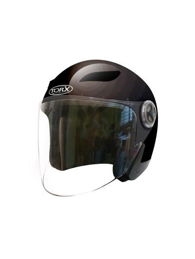 Odprta čelada TORX Helmets Jack 3 Frost - črna