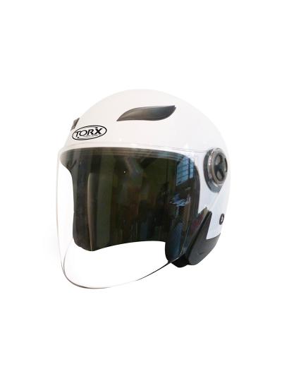 Odprta čelada TORX Helmets Jack 3 - bela