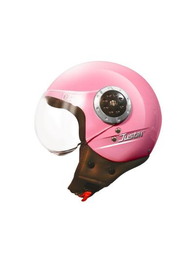 Odprta čelada TORX Helmets JUSTIN - roza