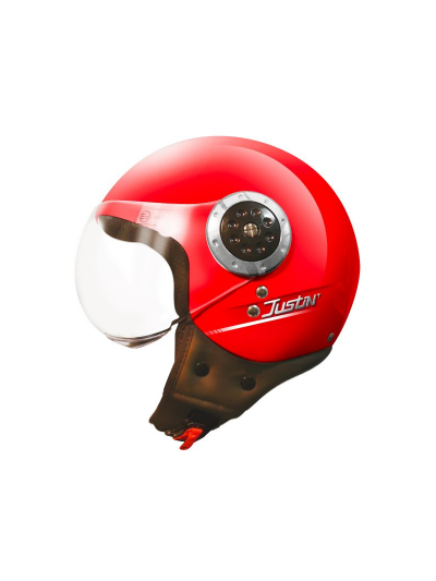 Odprta čelada TORX Helmets JUSTIN - rdeča