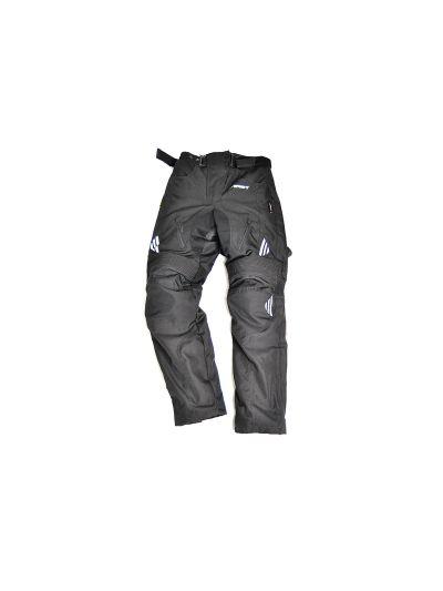Ženske motoristične tekstilne hlače FIRST Street Lady črne