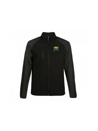 Softshell jakna 46 Monster VR 46 - črn