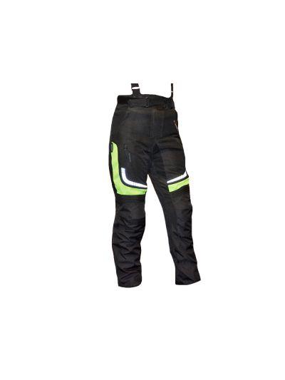 Ženske motoristične tekstilne hlače FIRST Factor2 Lady črne