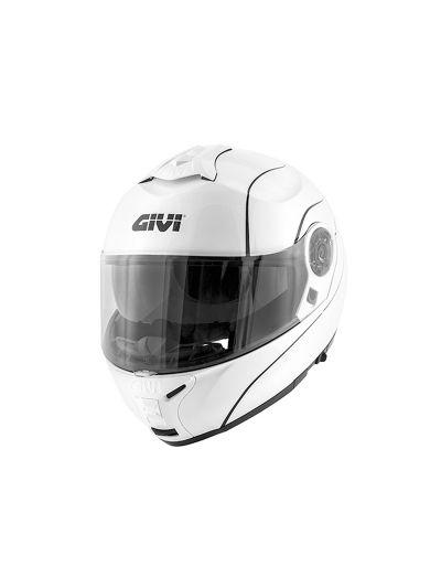 GIVI X.21 CHALLENGER Preklopna motoristična čelada - bela