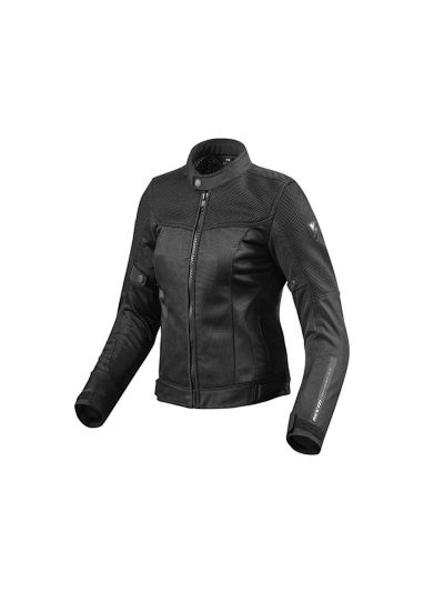 REV'IT VIGOR Lady črna ženska tekstilna motoristična jakna