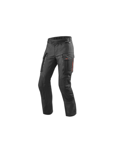 SAND 3 SHORT REV'IT - Tekstilne motoristične hlače - krajše - črne