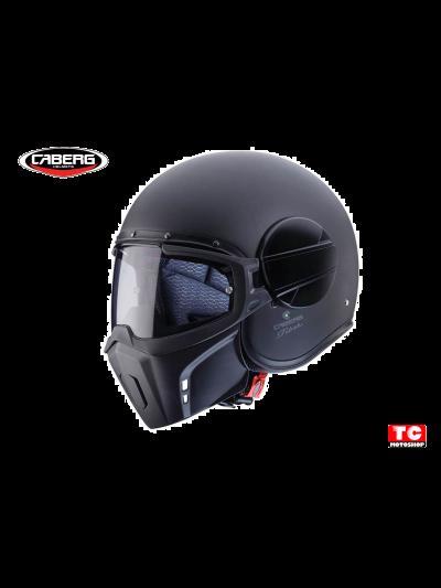 GHOST JET CABERG motoristična čelada - mat črna
